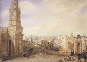 George Scharf Old and New London Bridges as they appeared in December 1831 (mk47) oil painting picture wholesale